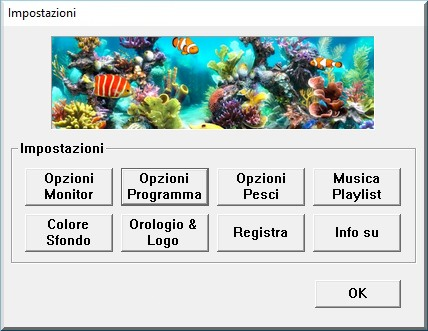 Acquario 3d screensaver per pc in italiano gratis e for Giardino 3d gratis italiano